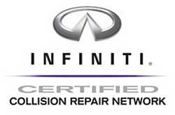 Infiniti Certified Collision Repair Network logo