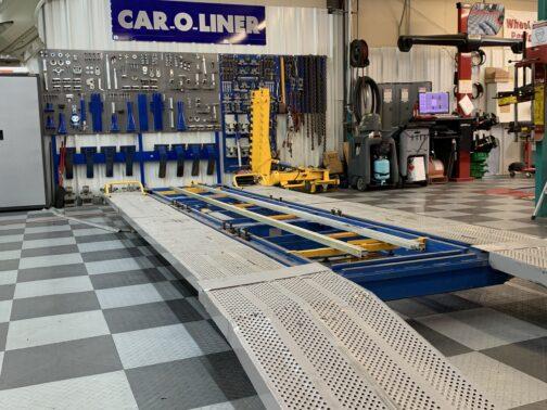 Car-O-Liner Autobody Repair Bench Rack