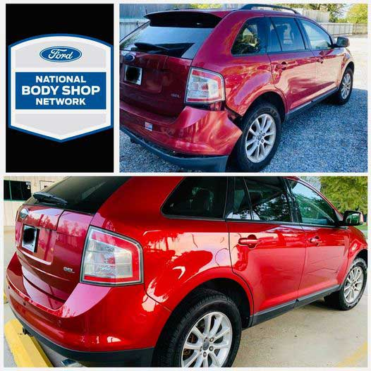 Ford National Body Shop Before and After