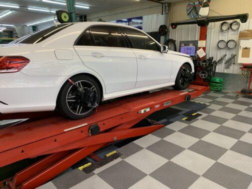 Hunter Autobody Repair Suspension Alignment Rack